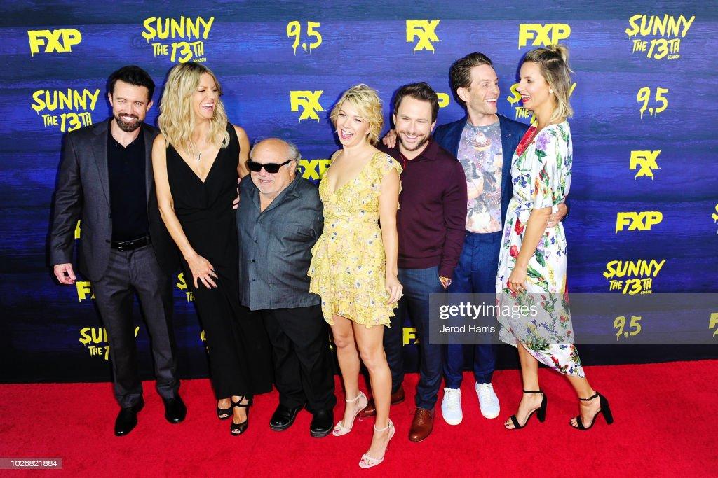 "Premiere Of FXX's ""It's Always Sunny In Philadelphia"" Season 13 - Arrivals : News Photo"