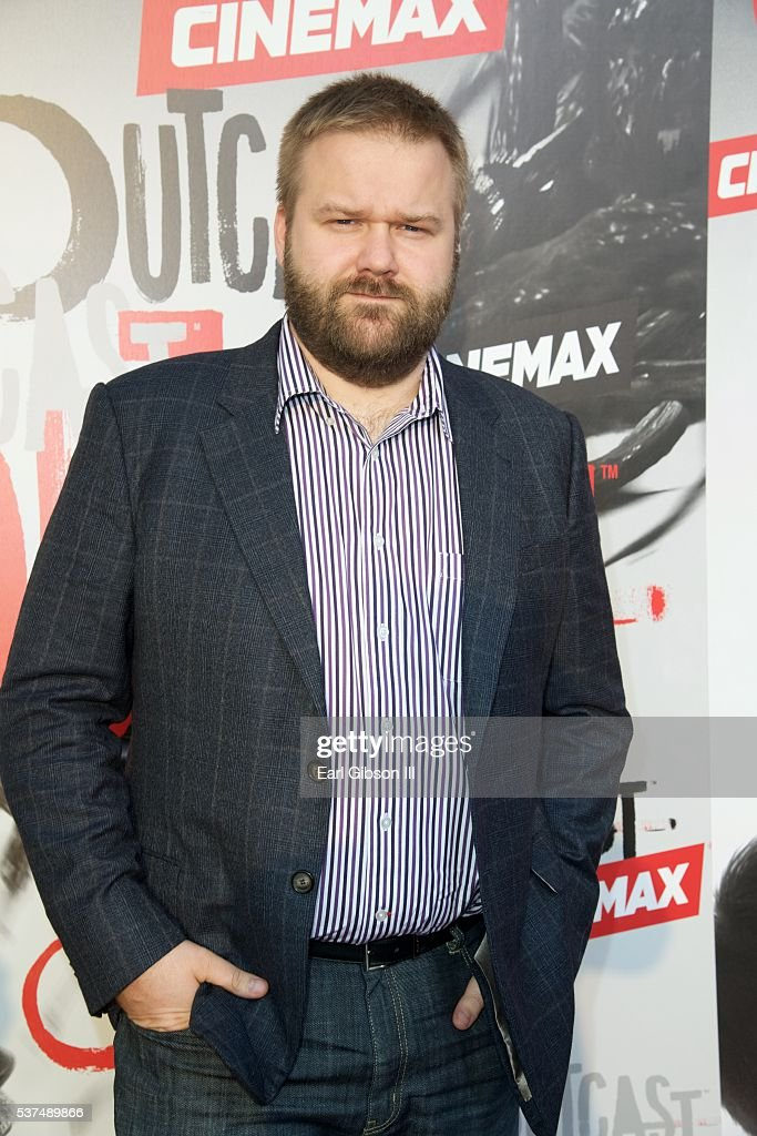 Creator and Executive Producer Robert Kirkman attends the Premiere Of Cinemax's 'Outcast' at Hollywood Forever on June 1, 2016 in Hollywood, California.