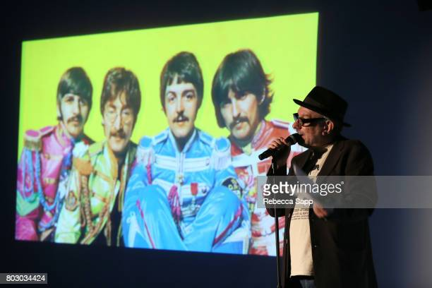 Creator and host of The Record Theater Marvin Etzioni speaks onstage at The GRAMMY Museum Presents The Record Theater The Beatles Sgt Pepper's Lonely...