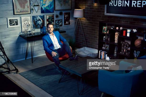 Creator and host of The Rubin Report Dave Rubin is photographed for Playboy Magazine on August 7 2018 in Los Angeles California PUBLISHED IMAGE