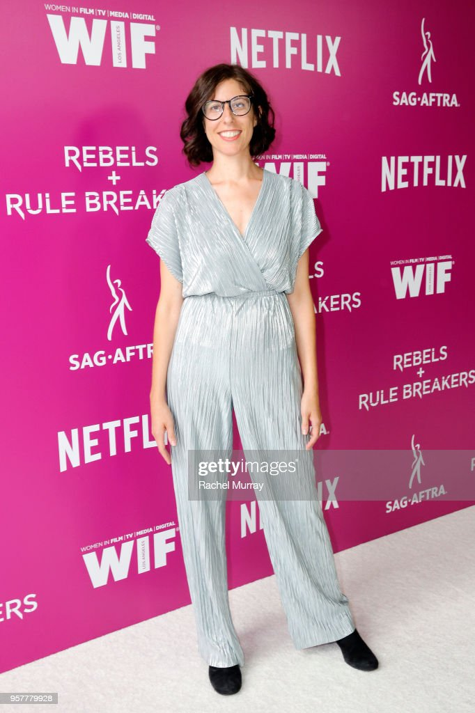 Creator Carly Mensch attends the Rebels and Rule Breakers Panel at Netflix FYSEE at Raleigh Studios on May 12, 2018 in Los Angeles, California.