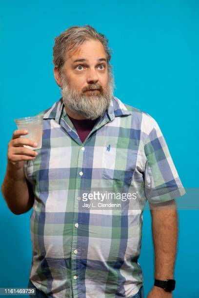 Creator Dan Harmon of 'Rick and Morty' is photographed for Los Angeles Times at Comic-Con International on July 20, 2019 in San Diego, California....