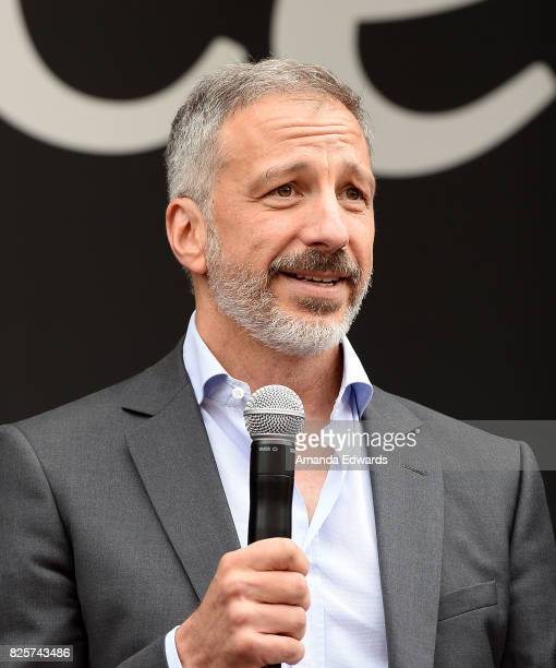 Creator David Kohan attends the 'Will Grace' start of production kick off event and ribbon cutting ceremony at Universal City Plaza on August 2 2017...