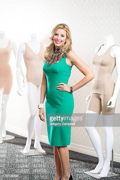 Creator founder and owner of clothing brand Spanx Sara Blakley is photographed for You Magazine on February 19 2013 in Atlanta Georgia