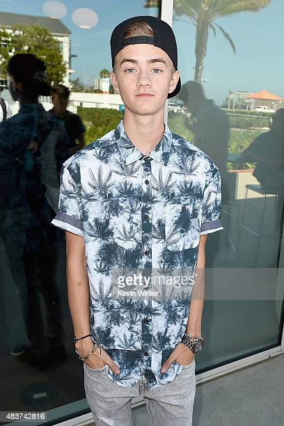 Creator Jack Johnson of Jack Jack attends The 5th Annual Streamy Awards Nomination Celebration at Annenberg Community Beach House on August 12 2015...