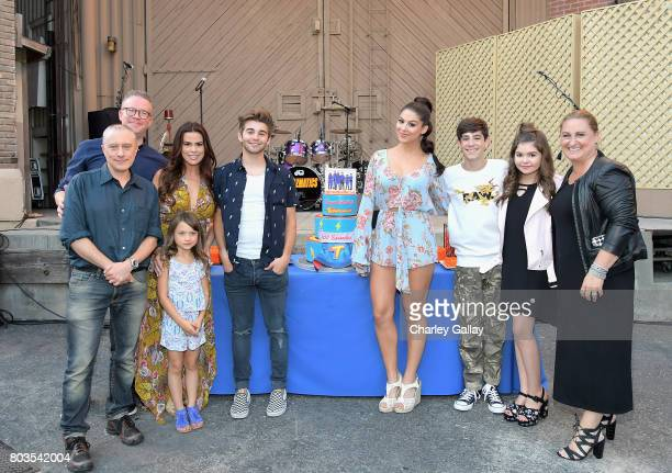 Creator Jed Spingarn actors Chris Tallman Maya Le Clark Rosa Blasi Jack Griffo Kira Kosarin Diego Velazquez Addison Riecke and President of the...