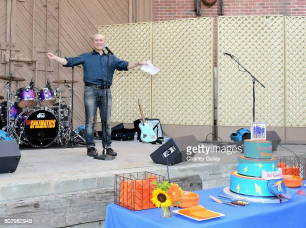 Creator Jed Spingarn celebrates the 100th episode of Nickelodeon's The Thundermans at Paramount Studios on June 28 2017 in Hollywood California