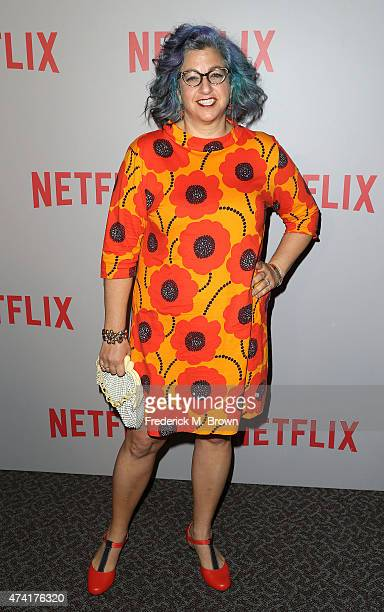 Creator Jenji Kohan attends Netflix's Orange Is The New Black For Your Consideration Screening and Q A at the Directors Guild Of America on May 20...