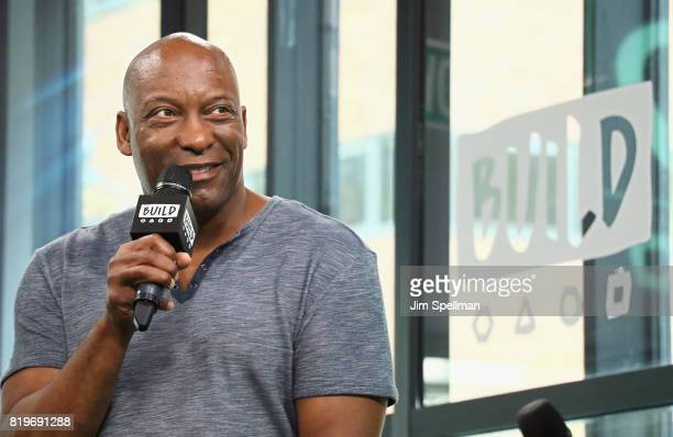 Creator John Singleton attends Build to discuss Snowfall at Build Studio on July 20 2017 in New York City