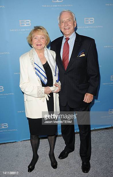 Creator Lee Philip Bell and guest attend the 5th Silver Anniversary party for CBS' The Bold And The Beautifu on March 10 2012 in Los Angeles...