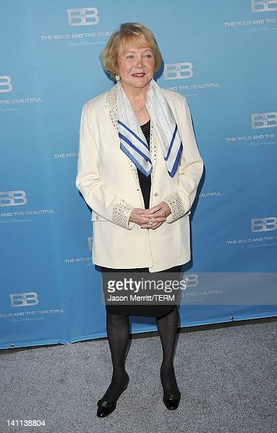 Creator Lee Philip Bell attends the 5th Silver Anniversary party for CBS' The Bold And The Beautifu on March 10 2012 in Los Angeles California
