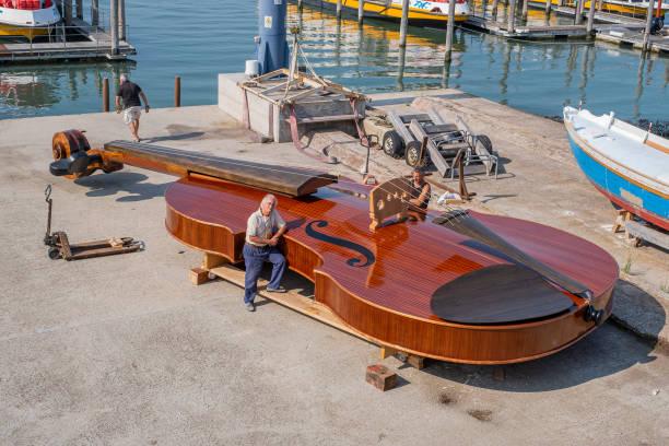 ITA: Violin Shaped Boat Press Preview