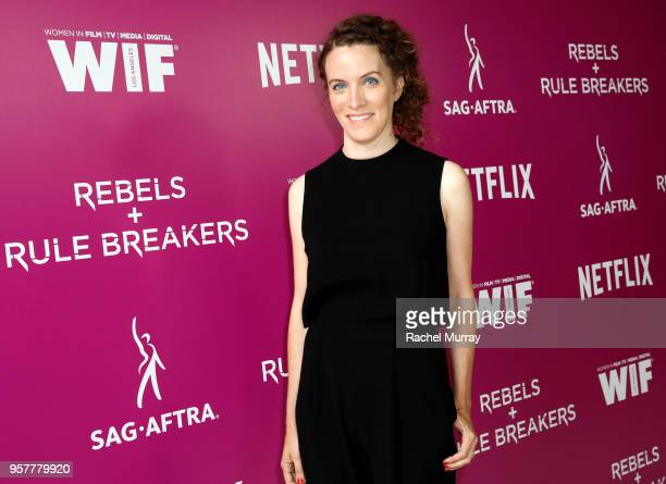 Creator Liz Flahive attends the Rebels and Rule Breakers Panel at Netflix FYSEE at Raleigh Studios on May 12 2018 in Los Angeles California