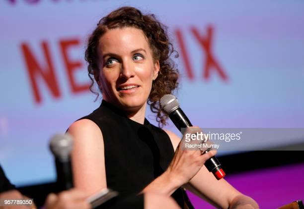 Creator Liz Flahive speaks onstage at the Rebels and Rule Breakers Panel at Netflix FYSEE at Raleigh Studios on May 12 2018 in Los Angeles California
