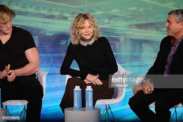 Creator Logan Paul Actress/Director Meg Ryan and EVP Entertainment Ketchum Marcus Peterzell speak at the How are Brands Engaging the Real...