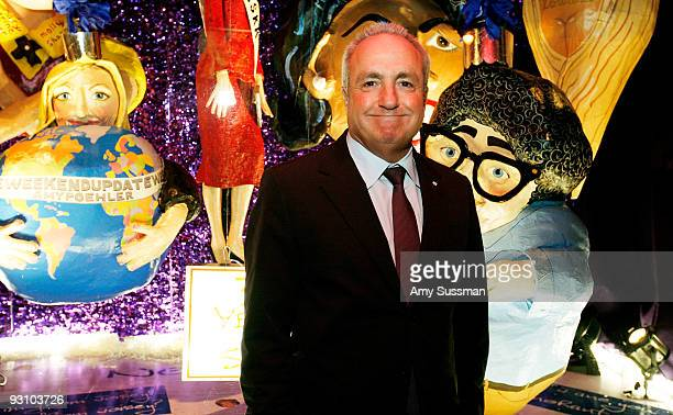 Creator of SNL Lorne Michaels attends the Barneys New York Unveils 2009 Holiday Window Celebrating 35 Years of SNL at Barneys New York on November 16...