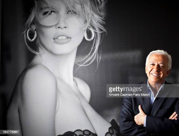 Creator of the Guess jeans brand Paul Marciano is photographed for Paris Match on May 3 2012 in Paris France