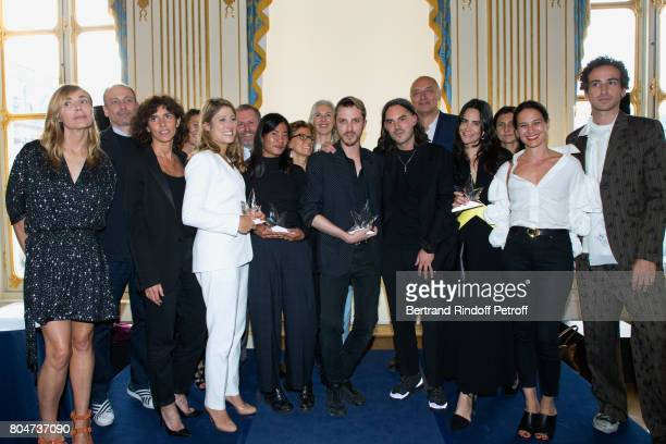 Creator of the Price Nathalie Dufour General Director of 'Yves Saint Laurent' Francesca Bellettini 'Prix de l'Innovation' AudreyLaure Bergenthal for...