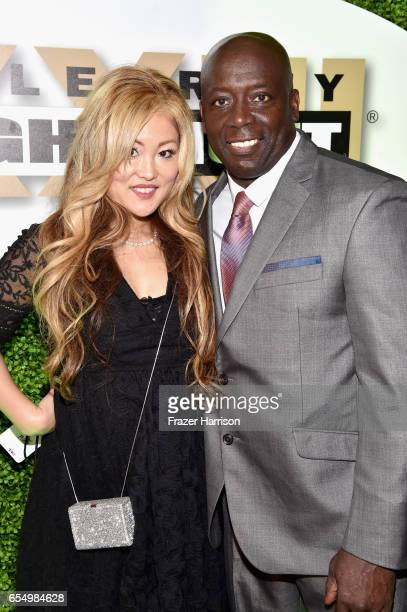 Creator of the Tae Bo exercise program Billy Banks and Tomoko Sato attend Muhammad Ali's Celebrity Fight Night XXIII at the JW Marriott Desert Ridge...