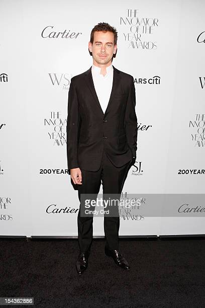 Creator of Twitter and founder and CEO of Square Jack Dorsey attends WSJ Magazine's Innovator Of The Year Awards at MOMA on October 18 2012 in New...