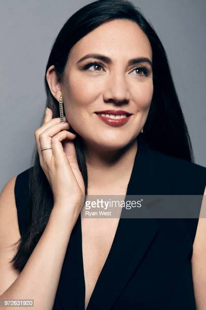 Creator of 'Westworld' Lisa Joy is photographed for Emmy Magazine on March 30 2017 in Burbank California PUBLISHED IMAGE