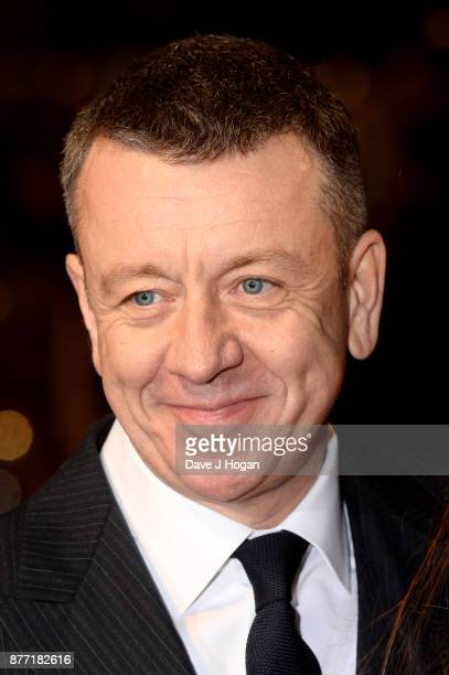 Creator Peter Morgan attends the World Premiere of season 2 of Netflix 'The Crown' at Odeon Leicester Square on November 21 2017 in London England
