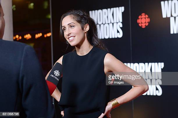 """Creator, showrunner and star Catherine Reitman attends the CBC world premiere VIP screening of """"Workin' Moms"""" at TIFF Bell Lightbox on January 9,..."""