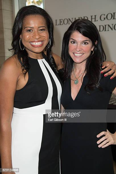 Creator, Showrunner, Executive Producer Courtney A. Kemp and President/CEO at the Paley Center for Media Maureen J. Reidy pose for a photo at The...