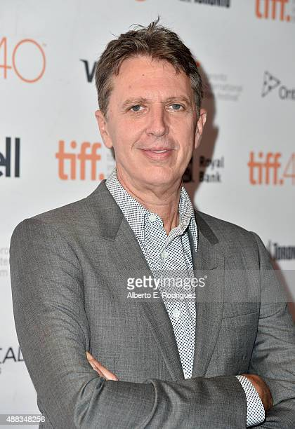 Creator Tim Kring attends the Heroes Reborn premiere during the 2015 Toronto International Film Festival at the Winter Garden Theatre on September 15...