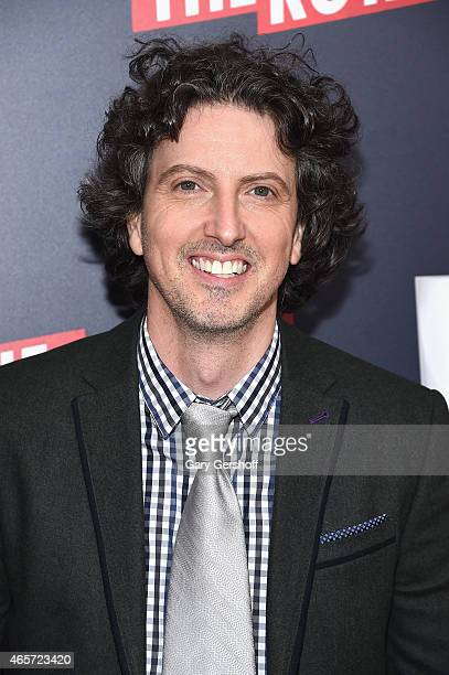 Creator writer and producer of 'The Royals' Mark Schwahn attends 'The Royals' New York Series Premiere at The Standard Highline on March 9 2015 in...