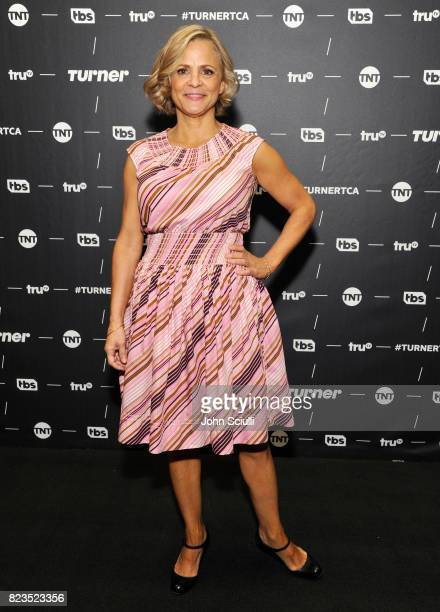 Creator/actor Amy Sedaris of 'At Home With Amy Sedaris' at the TCA Turner Summer Press Tour 2017 Green Room at The Beverly Hilton Hotel on July 27...