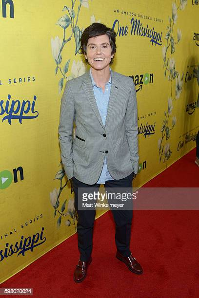 Creator/actress Tig Notaro attends the premiere of Amazon's new series 'One Mississippi' at The London West Hollywood on August 30 2016 in West...