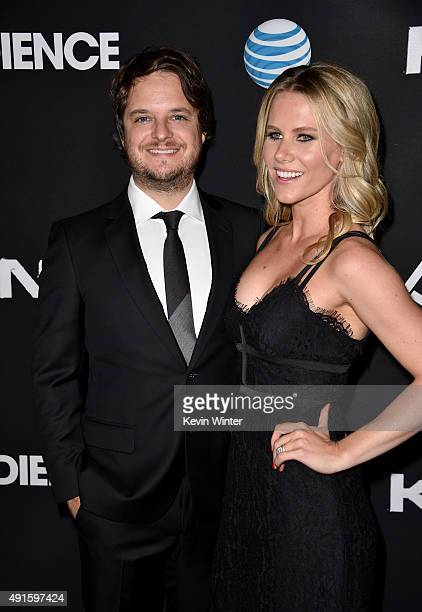 Creator/EP Byron Balasco and actress Juliette Jackson attend the premiere of DIRECTV's Kingdom Season 2 at SilverScreen Theater at the Pacific Design...