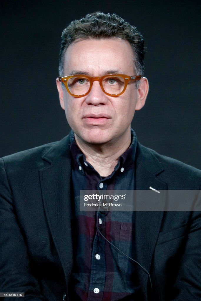 Creator/EP/Writer/Actor Fred Armisen of 'Portlandia' speaks onstage during the IFC portion of the 2018 Winter Television Critics Association Press Tour at The Langham Huntington, Pasadena on January 12, 2018 in Pasadena, California.