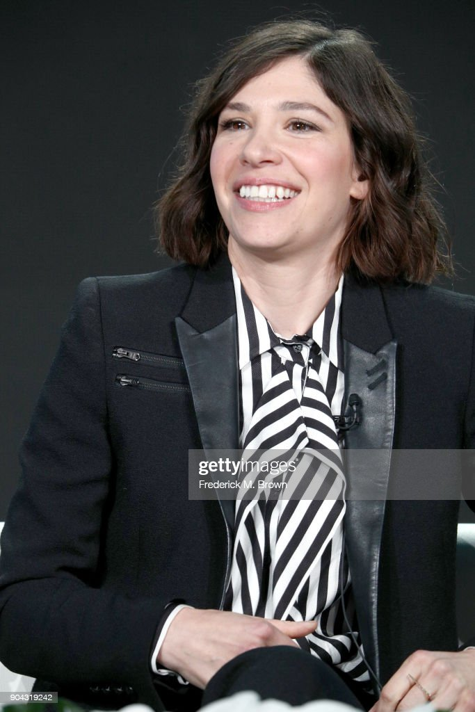 Creator/EP/Writer/Director/Actor Carrie Brownstein of 'Portlandia' speaks onstage during the IFC portion of the 2018 Winter Television Critics Association Press Tour at The Langham Huntington, Pasadena on January 12, 2018 in Pasadena, California.