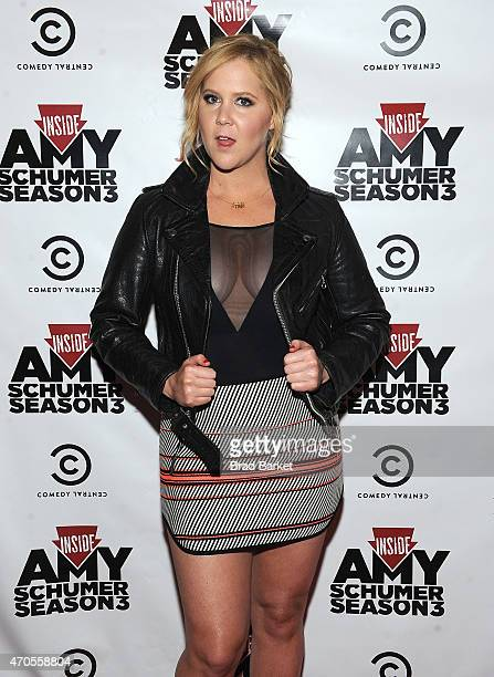 Creator/Executive Producer Amy Schumer attends the Inside Amy Schumer 3rd Season Premiere Party on April 19 2015 in New York City