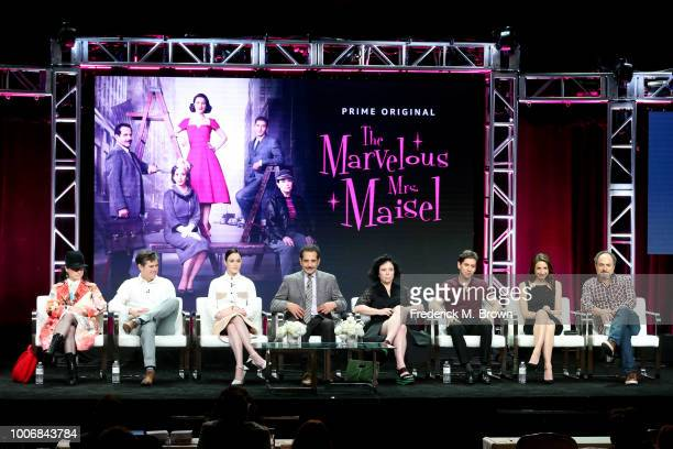 Creator/Executive Producer Amy ShermanPalladino Executive Producer Daniel Palladino and actors Rachel Brosnahan Tony Shalhoub Alex Borstein Michael...