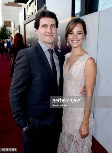 Creator/executive producer Billy Ray and actress Bailey Noble arrive at the premiere of Amazon Studios' The Last Tycoon at the Harmony Theatre on...