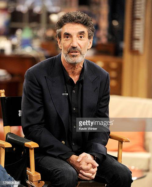 Creator/executive producer Chuck Lorre appears on the set of 'The Big Bang Theory' for a dialogue with members of The Academy of Television Arts and...