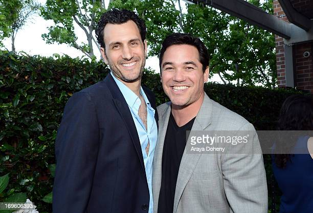 Creator/executive producer James LaRosa and actor Dean Cain attend VH1's 'Hit The Floor' screening at Tiato on May 28 2013 in Santa Monica California...