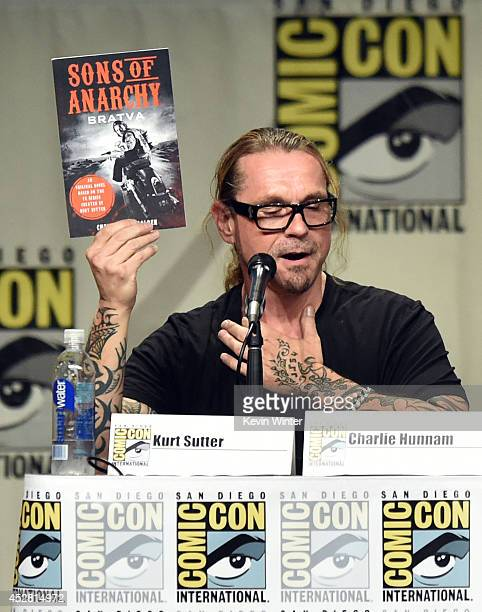 Creator/executive producer Kurt Sutter attends FX's 'Sons of Anarchy' panel during ComicCon International 2014 at San Diego Convention Center on July...