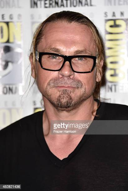 Creator/executive producer Kurt Sutter attends FX's 'Sons of Anarchy' Press Line during ComicCon International 2014 at San Diego Convention Center on...