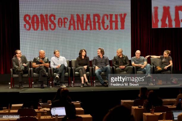 Creator/executive producer Kurt Sutter executive producer/director Paris Barclay actors Charlie Hunnam Katey Sagal Kim Coates Theo Rossi Dayton...