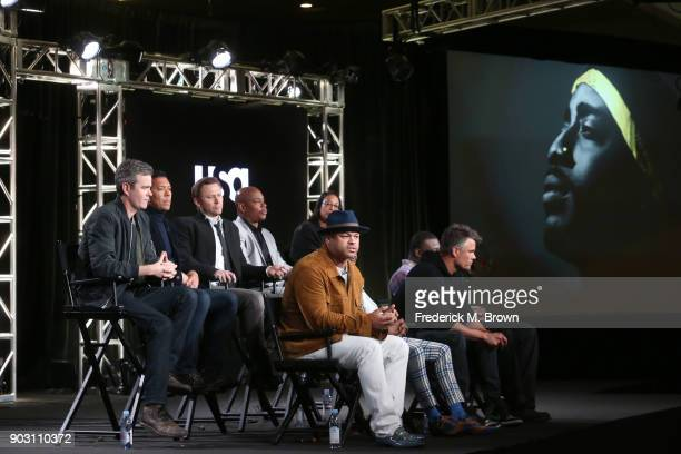 creatorexecutive producer kyle long guest panelist actors jimmi simpson and bokeem woodbine coproducer - Executive Producer Music