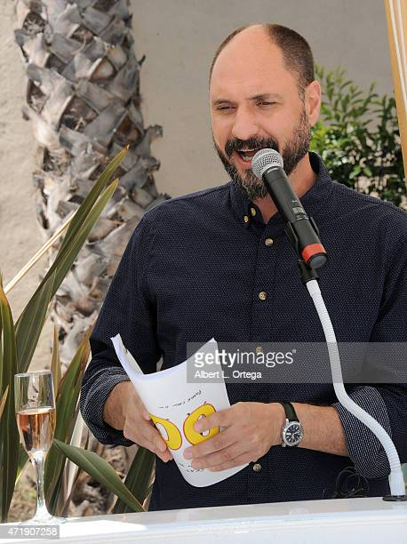 Creator/executive producer Loren Bouchard celebrates 100 Episodes Of FOX's 'Bob's Burgers' held at Fox Studio Lot on May 1 2015 in Century City...