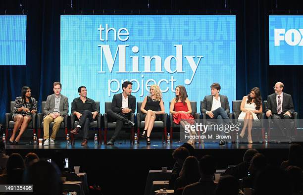 Creator/Executive Producer Mindy Kaling Executive Producer Matt Warburton and actors Chris Messina Ed Weeks Anna Camp Zoe Jarman Ike Barinholtz...