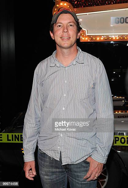 """Creator/executive producer of """"The Good Guys"""" Matt Nix attends the opening reception for """"The Good Guys, Bad Guys, Hot Cars"""" exhibition at Petersen..."""