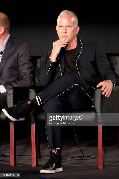 Creator/Executive Producer Ryan Murphy of 'The Assassination of Gianni Versace American Crime Story' speaks onstage during the FX portion of the 2017...