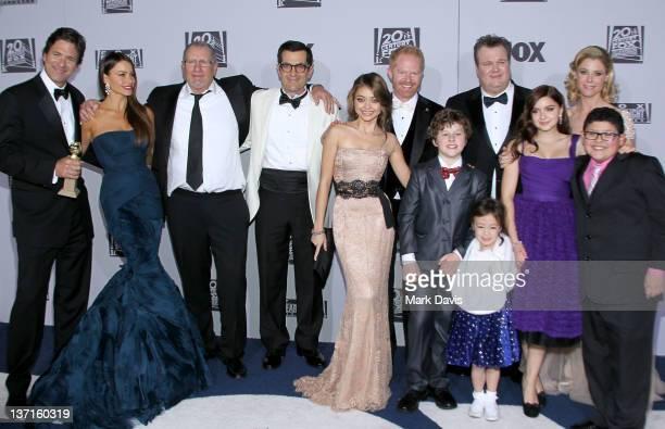 Creator/executive producer Steven Levitan actors Sofia Vergara Ed O'Neill Ty Burrell Sarah Hyland Jesse Tyler Ferguson Nolan Gould Aubrey...