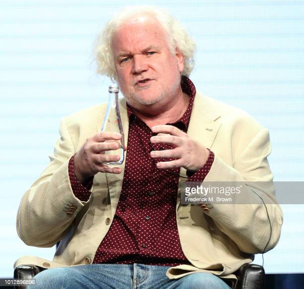 Creator/executive producer Tim Doyle of the television show 'The Kids Are Alright' speaks during the Disney/ABC segment of the Summer 2018 Television...